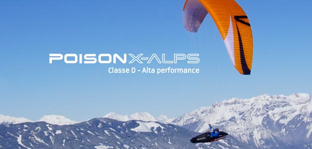 Parapente Poison X-ALPS Skywalk